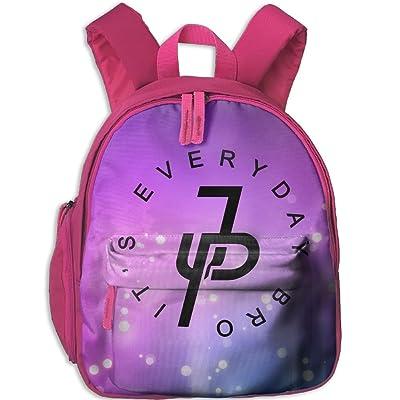 dcf42429fd best Jake Paul JP Logo Kids Mini Backpack Shoulder Schoolbag With Front  Pockets