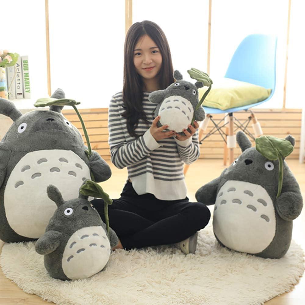 XG-BH Totoro Peluches Niños Cumpleaños Niña Juguetes para niños Muñeca Totoro Almohada de Gran tamaño Muñeca de Peluche Totoro,A,30CM