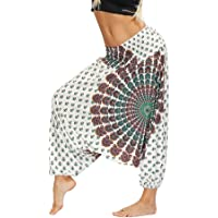keepmore Pantalones de Yoga para Mujer Bloomers Hippy