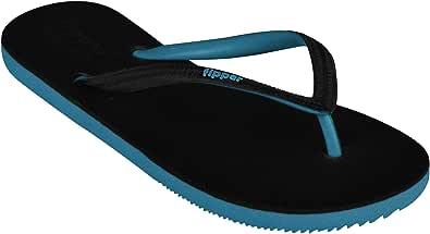 fipper Women's Black-S Series Rubber Thongs