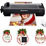 13 inches Laminator, Blusmart Multiple Function A3 Laminator with 25 Laminating Pouches, Paper Cutter, Corner Rounder…