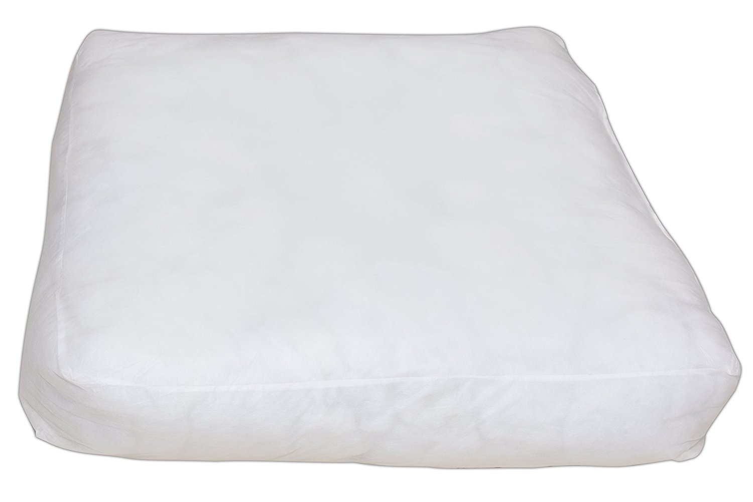 Soft Comfortable Microfiber Pillow /Cushion Pillow Insert Sham Square Form Polyester Soft Bed Pillow Insert Form Cushion filler Work Great 4 Back,Stomach Side & Pregnant Sleepers (35 x 35 x 6 inch
