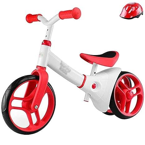 LMETZXC Bicicletas de Equilibrio for niños, andadores for bebés ...