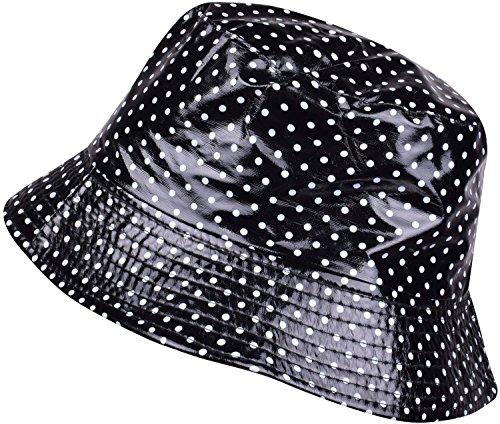 099d06c222b TOUTACOO Waterproof Wax Style Bucket Rain Hat   Rain Hats   Clothing ...