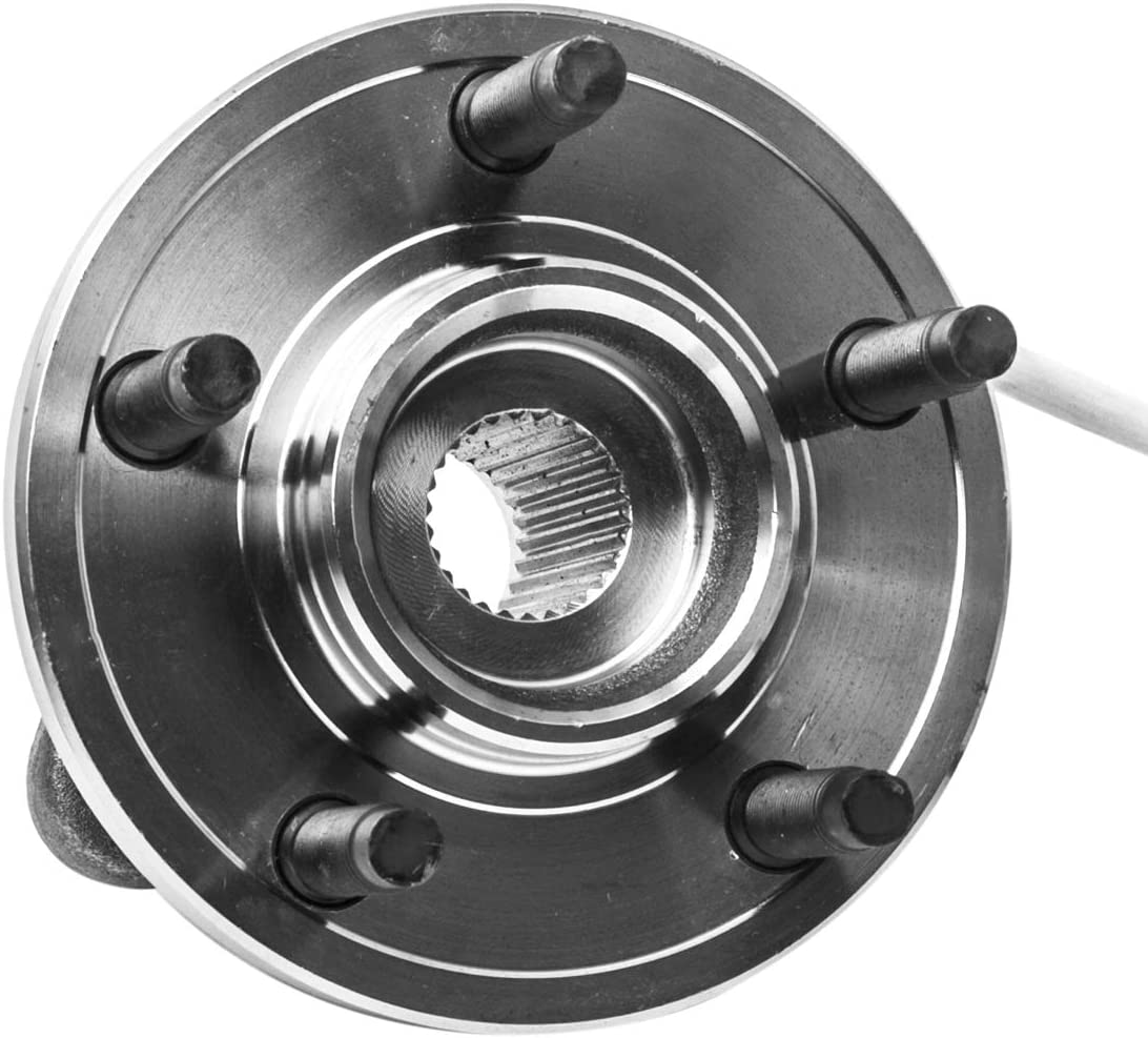 5 Lug W//ABS 4WD Models Only Front Wheel Hub and Bearing Assembly Left or Right Compatible Ford Ranger Explorer Sport Trac Mazda B4000 AUQDD 515052