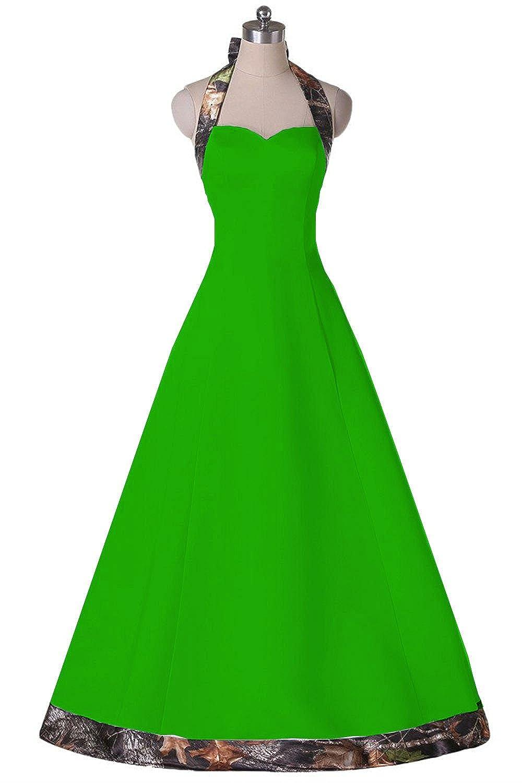 Dingzan Camo Bridal Reception Dresses Bridesmaid Gowns For Wedding