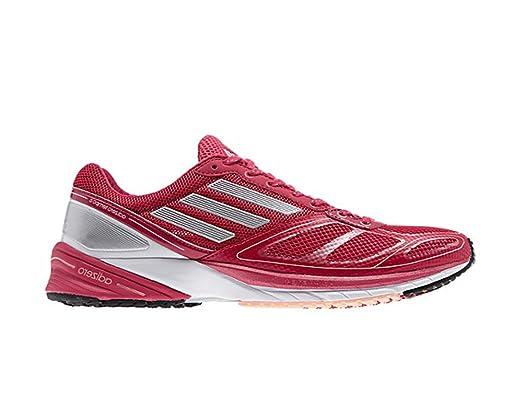 New Adidas Women's Adizero Tempo 6 Running Shoes Vivid Berry 5