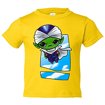 Camiseta niño Dragon Ball Bola de Dragón Piccolo Jr Kawaii - Amarillo, 12-14