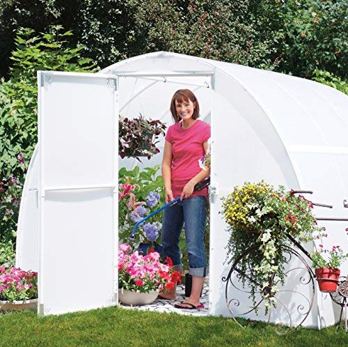 A&A Greenhouse White Plastic Film Polyethylene Covering 4 Year 6 Mil (14ft Wide X 25ft Long) by A&A (Image #1)