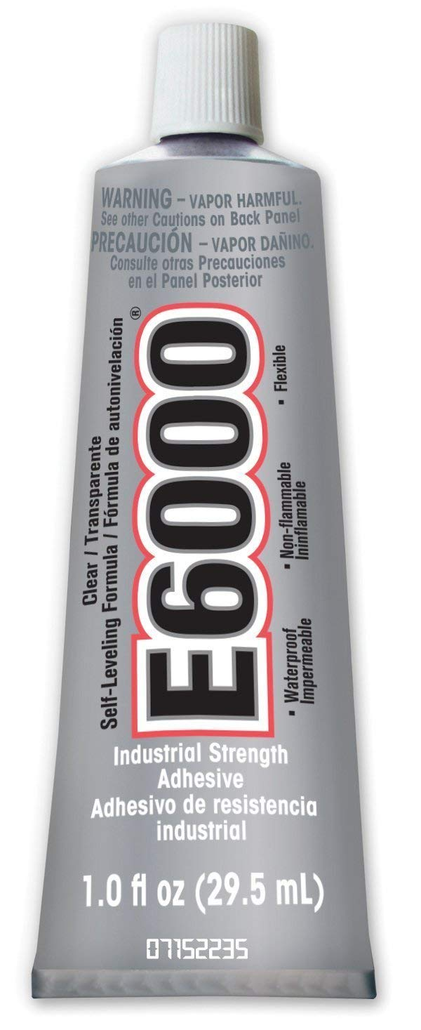Eclectic Products 231012 4 Pack E6000 Medium Viscocity 1.0 fl oz Adhesive