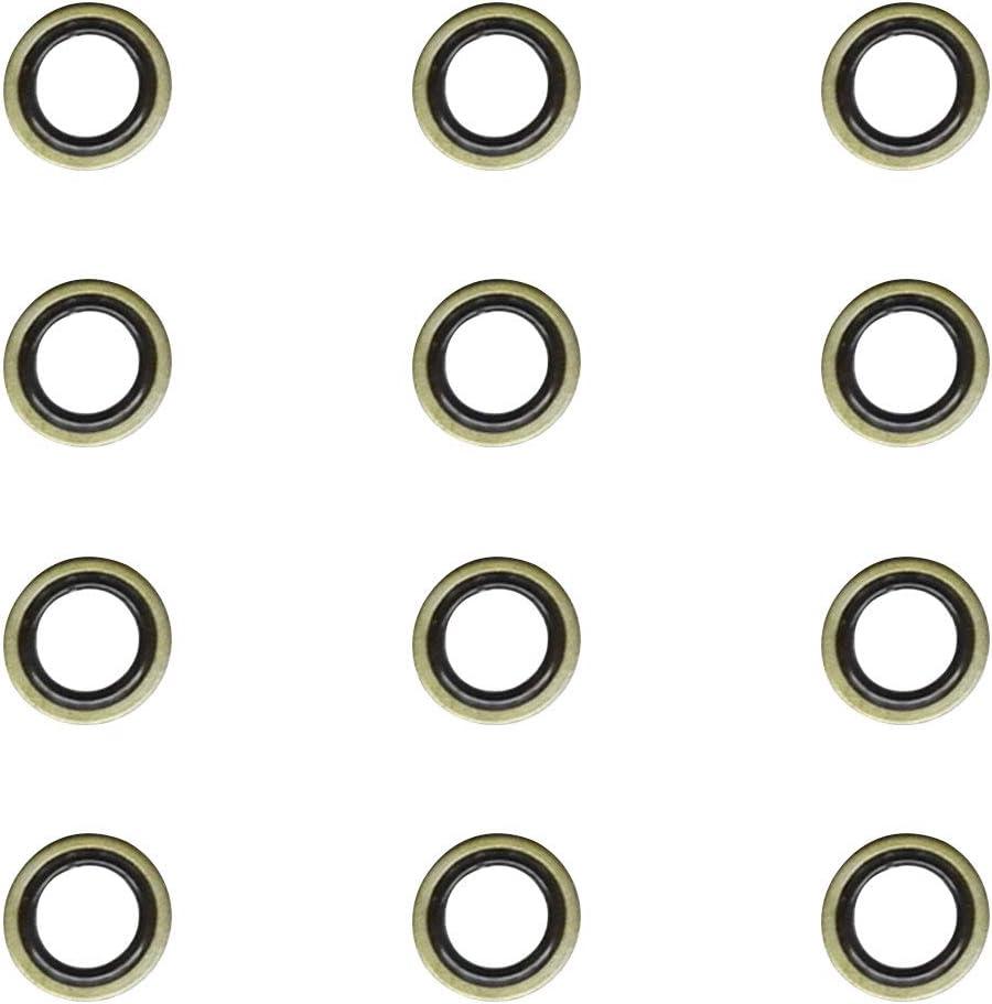 Notonmek 3963983 Fuel Line Sealing Washer For Dodge Ram Cummins 2500 3500 5.9L 5.9 6.7L 6.7 12V 24V 12
