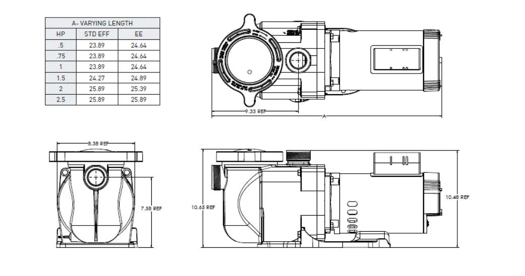 Amazon.com : Pentair 340044 SuperFlo High Performance Energy ... on ace wiring diagram, aquabot wiring diagram, jandy wiring diagram, jacuzzi wiring diagram, graco wiring diagram, manufacturing wiring diagram, toshiba wiring diagram, little giant wiring diagram, ingersoll rand wiring diagram, sears wiring diagram, viking wiring diagram, raypak wiring diagram, apc wiring diagram, taylor wiring diagram, panasonic wiring diagram, a.o. smith wiring diagram, flowserve wiring diagram, hayward wiring diagram, autopilot wiring diagram, broan wiring diagram,