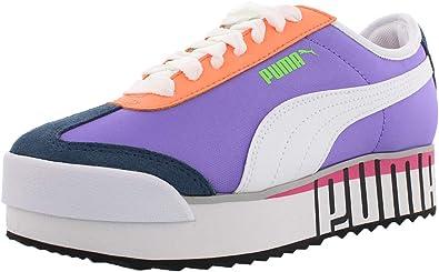 PUMA Womens Roma Amor Logo Casual Sneakers,