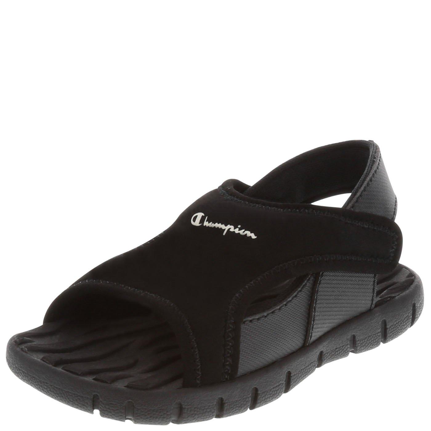 Champion Boys' Black Boys' Toddler Splash Sandal 9 Regular