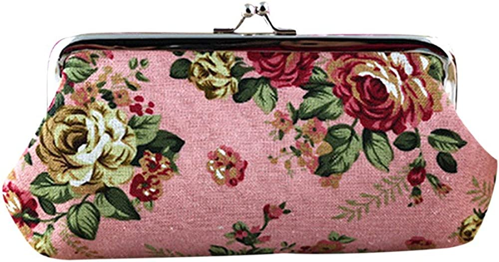 Women's Cute Floral Purse...
