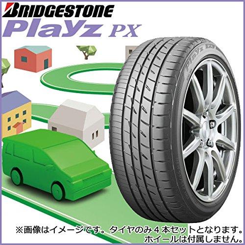ブリヂストン(BRIDGESTONE) 低燃費タイヤ Playz PX 195/65R15 91H 4本セット B07CNH89HP