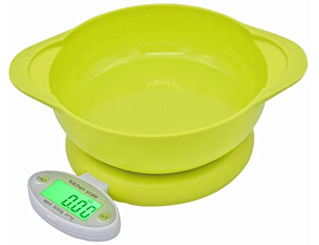 Digital Food Scale / Kitchen Scale And Multifunction Baking Cooking Scale  With Bowl 11 Lb 5kg