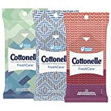 Cottonelle Fresh Care Flushable Wipes Travel Pack 12 Travel Pack Deal
