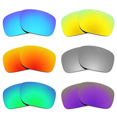da7babc7cb Image Unavailable. Image not available for. Color  Revant Replacement Lenses  for Oakley Holbrook 6 Pair Combo Pack K027