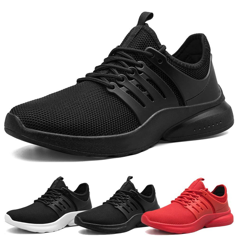 MUOU Sneaker Zapatillas Running para Hombre Aire Libre y Deporte Transpirables Casual Zapatos Gimnasio Correr Sneakers