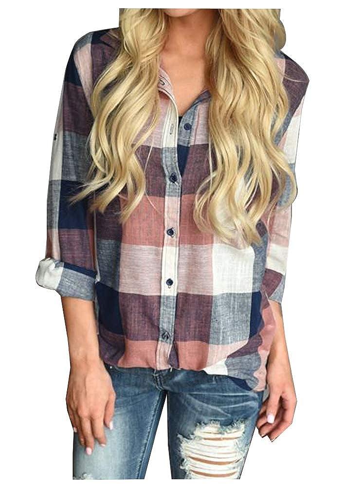 Vssjavun Womens Plus Size Stretch Boho Embroidered Long Tunic Blouse Shirts VSJ-TS-001