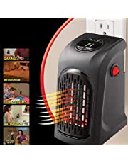 Portable Handy Space Heater Australia Standard Plug Direct Wall-Outlet Powerful 400W Personal Heating Upto 23 Square Meters Quiet Fan Blower as Seen On TV