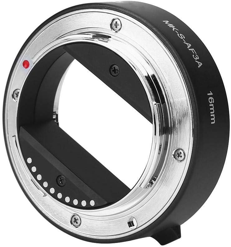 10mm 16mm Macro Auto Focus Camera Extension Tub for E//FE NEX3 NEX5 NEX6 NEX7 A5000//A6000//A7//A7M2 Series Bewinner Lens Extension Tube Set