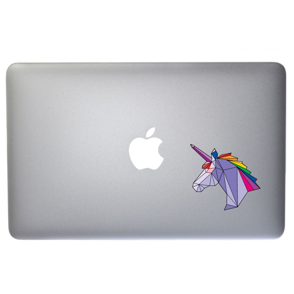 5in Crystal Rainbow Unicorn Decal - Vinyl Decal for Indoor or Outdoor use Windows and more Cars Laptops D/écor