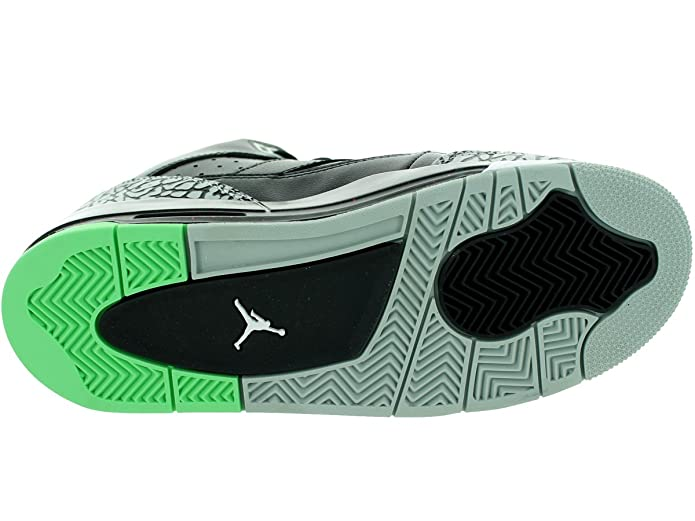 f864ead2979cf Nike Boys Jordan Son of Low BG White/Midnight Navy-Turquoise Blue Leather