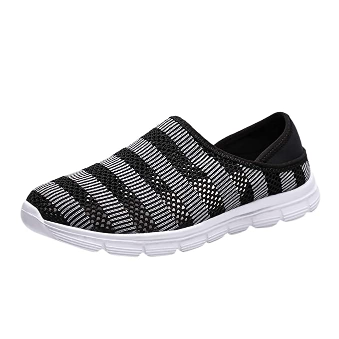 32a7a55ceeacc Amazon.com: Men's Breathable Running Shoes, Sharemen Casual Mesh ...