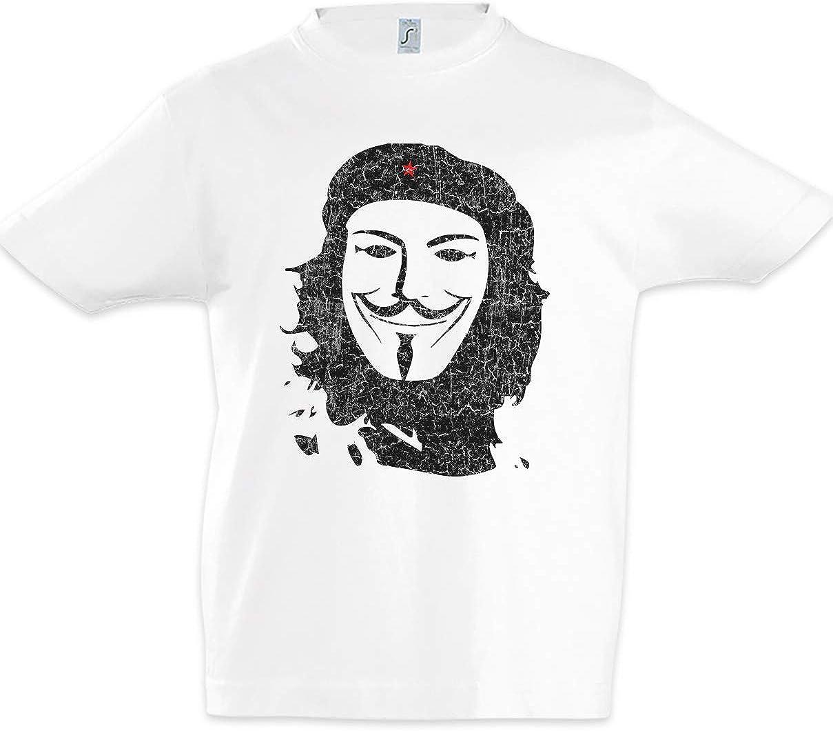 Urban Backwoods Che Anonymous II Camiseta para Niñas Chicas niños T-Shirt Blanco Talla 8 Años: Amazon.es: Ropa y accesorios