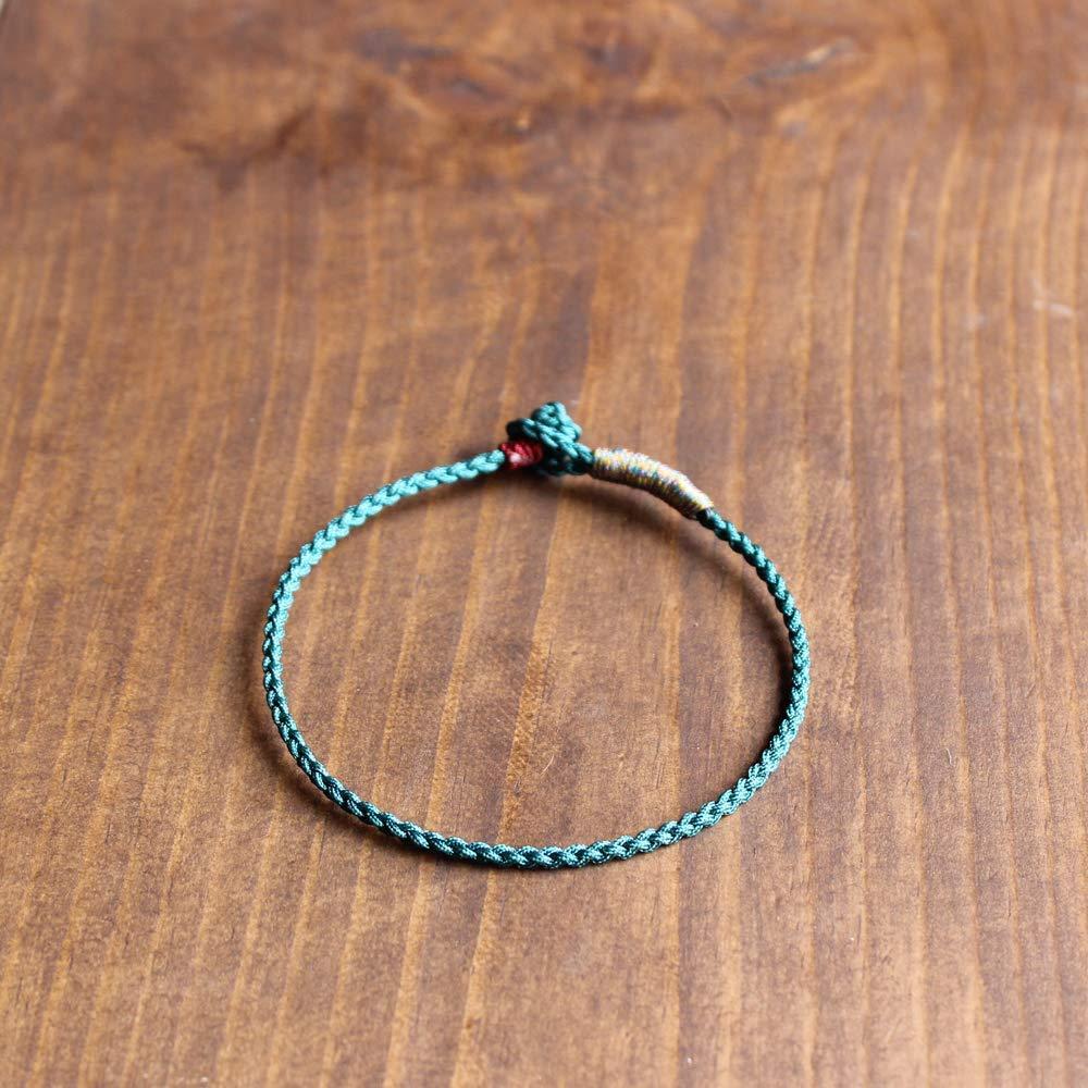 TALE Lucky Rope Bracelet Tibetan Buddhist Hand Braided Knots Peace Charm