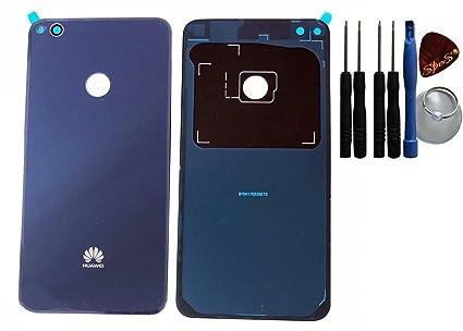 Huawei P8 Lite (2017) Tapa Trasera con Your Design Azul con ...
