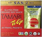 San J- Organic Gluten-Free Tamari Soy Sauce (20 To-Go Packets)