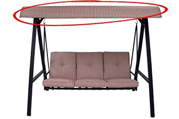 Replacement Canopy For Mainstays 3  Person Swing True To Original Color U0026  Pattern