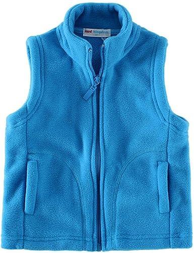 Mud Kingdom Boys Vest Fleece Solid Color Z-S0402-Vest