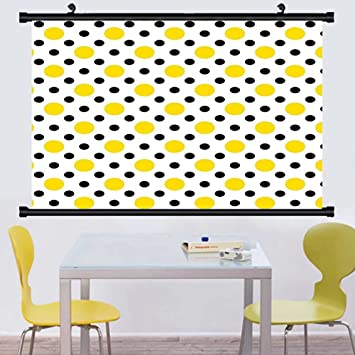 Amazon.com: Gzhihine Wall Scroll Polka Dots Home Decor Collection ...