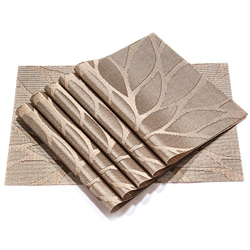 Hebe Placemats Set Of 6 Unique Decorative Kitchen Table