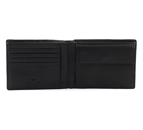 Braun Büffel Varese Wallet Q Geldbörse Black Schwarz Neu