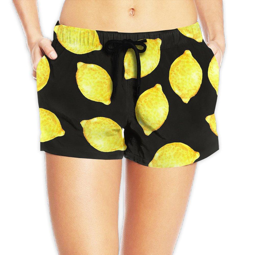 Girl's Hipster Lemon Shorts