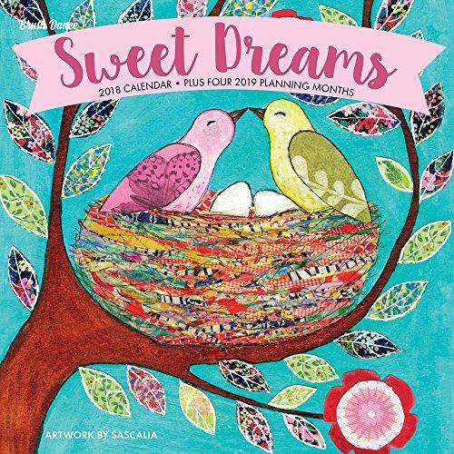 Sweet Dreams 2018 Wall Calendar ()