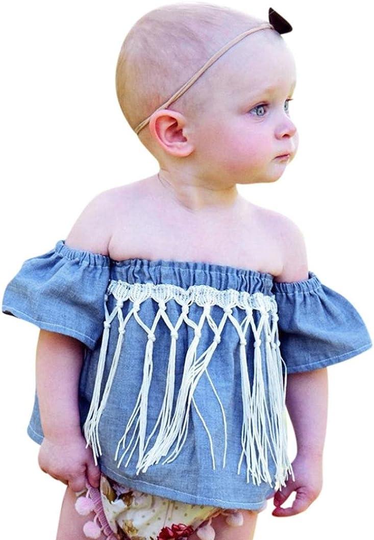 VENMO Kinder Outfits - Camisa deportiva - para niña Azul azul ...
