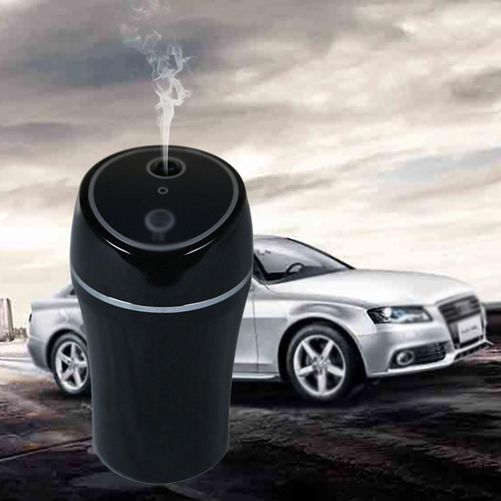 GOUGOU Car humidifier Convenient shortcuts A key trigger USB air purifier , black by YANQI
