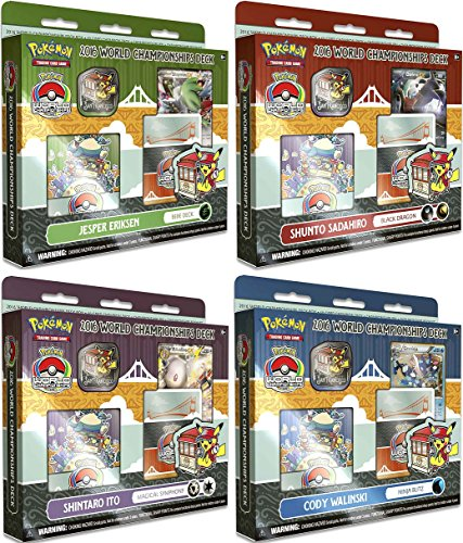 Pokemon 2016 World Championship Decks (All 4 Decks) (Pokemon Tcg World Championships)