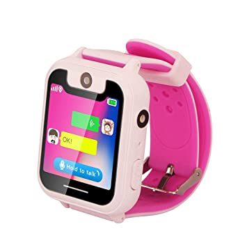 Qalabka Kid Smart Watch Phone para Niños Girls Boys Localizador de ...