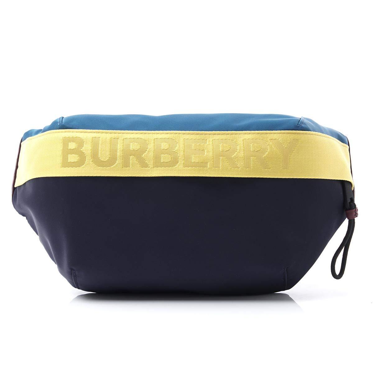 (バーバリー) BURBERRY ボディバッグ MEDIUM LOGO DETAIL COLOR BLOCK BUM BAG [並行輸入品]   B07Q72M6D7