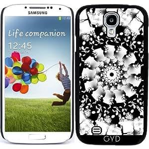 Funda para Samsung Galaxy S4 (GT-I9500/GT-I9505) - Mandala Floral by mimulux