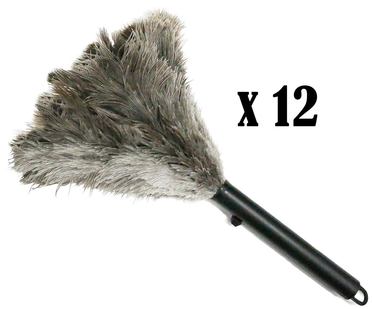 Retractable Feather Duster--12 Pack by Alta Dusting Products, Inc.