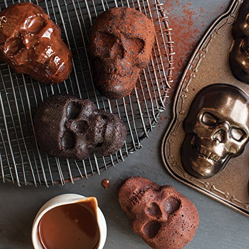 Nordic Ware Haunted Skull Cakelet Pan by Nordic Ware (Image #2)