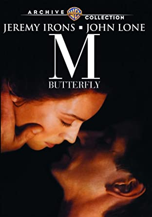 Amazon com: M Butterfly (1993): Jeremy Irons, John Lone